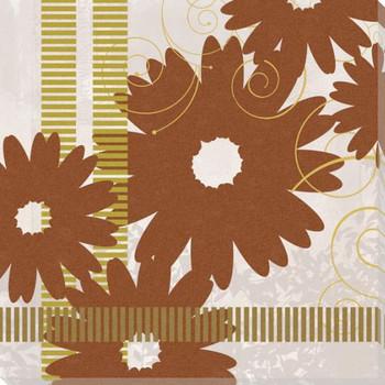 Adler's Garden-Autumn Dashes Wrapped Canvas Giclee Print Wall Art