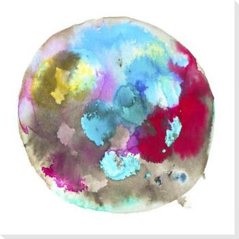 Chromatic 10 Wrapped Canvas Giclee Art Print Wall Art