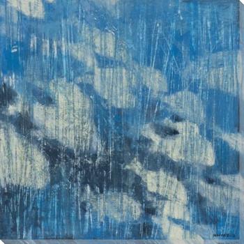 Deep Fish II Wrapped Canvas Giclee Print Wall Art