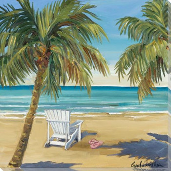 Sea Breeze Wrapped Canvas Giclee Art Print Wall Art
