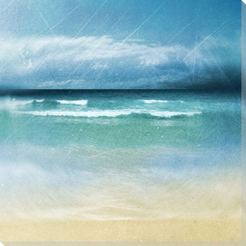 Ocean Movement II Wrapped Canvas Giclee Print Wall Art