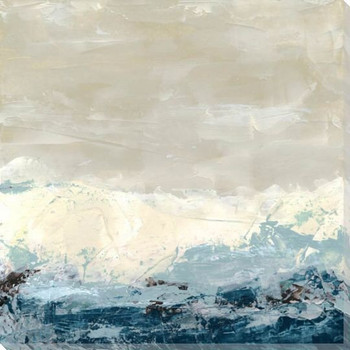 Coastal Currents II Wrapped Canvas Giclee Print Wall Art