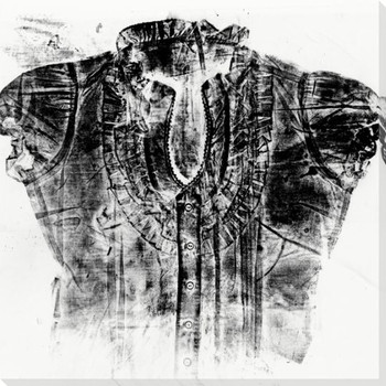 Ink Pressed Shirt Womenswear 1 Wrapped Canvas Giclee Print