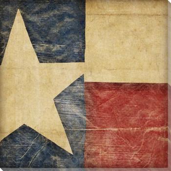 Stars and Bars 4 USA Flag Wrapped Canvas Giclee Print Wall Art