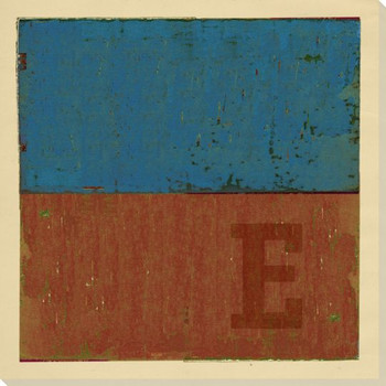 Intl. Maritime Signal Flag E Wrapped Canvas Giclee Print Wall Art