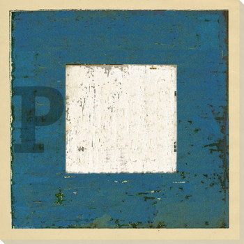 Intl. Maritime Signal Flag P Wrapped Canvas Giclee Print Wall Art