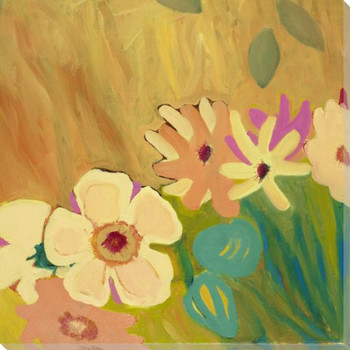 Flowering Relationship 3 Wrapped Canvas Giclee Print Wall Art