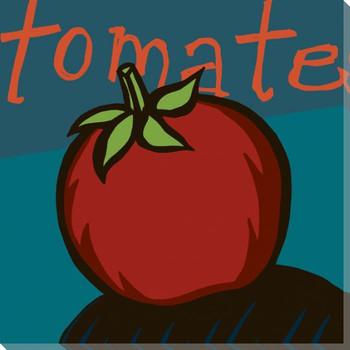 Tomate Fresco Tomato Wrapped Canvas Giclee Print Wall Art