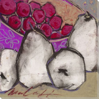 Spring Fever Fruits II Wrapped Canvas Giclee Print Wall Art