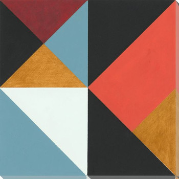 Angle Point I Wrapped Canvas Giclee Print Wall Art