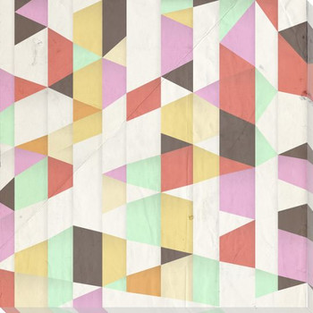 Color Pizzazz Wrapped Canvas Giclee Print Wall Art