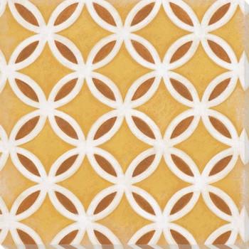Vibrant Tiles VI Wrapped Canvas Giclee Print Wall Art