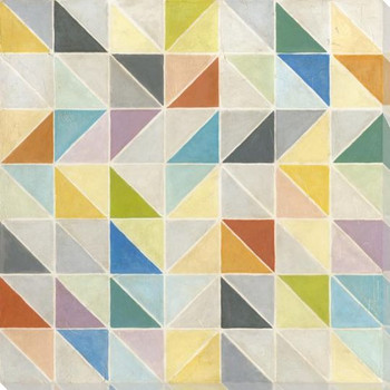 Multifaceted II Wrapped Canvas Giclee Print Wall Art