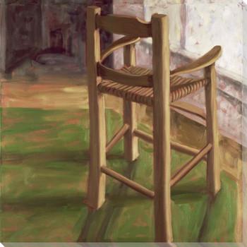Italian High Chair Wrapped Canvas Giclee Print Wall Art