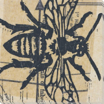 Bee Wrapped Canvas Giclee Print Wall Art