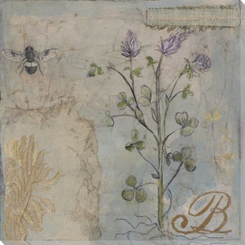 Wetlands #2 Bee Wrapped Canvas Giclee Print Wall Art