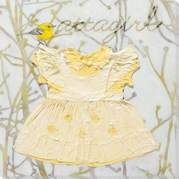 Atta Girl Dress Wrapped Canvas Giclee Print Wall Art
