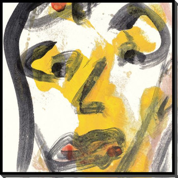 Visage 2 Wrapped Canvas Giclee Print Wall Art