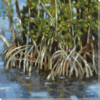 Mangroves II Wrapped Canvas Giclee Print Wall Art