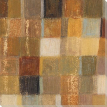 Autumn Quilt 2 Wrapped Canvas Giclee Print Wall Art