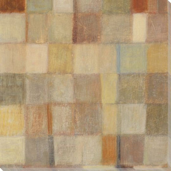 Autumn Quilt 3 Wrapped Canvas Giclee Print Wall Art