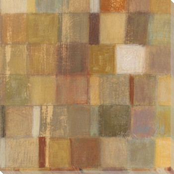 Autumn Quilt 4 Wrapped Canvas Giclee Print Wall Art