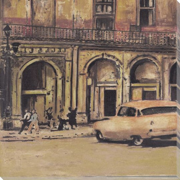 Havana 1 Wrapped Canvas Giclee Print Wall Art