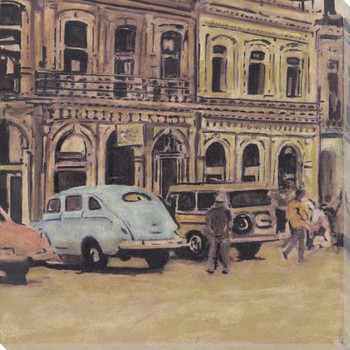 Havana 2 Wrapped Canvas Giclee Print Wall Art