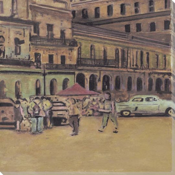 Havana 3 Wrapped Canvas Giclee Print Wall Art