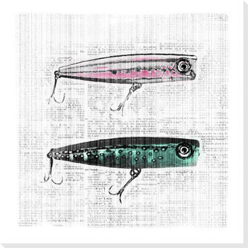 Bait and Switch 1 Wrapped Canvas Giclee Print Wall Art