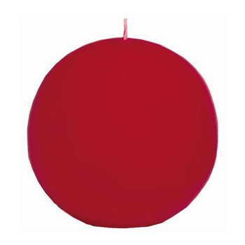 "2.5"" Cranberry Ball Candles, Set of 8"