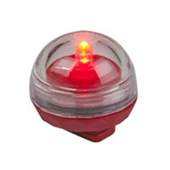 Red Submersible LED Lights, Set of 12
