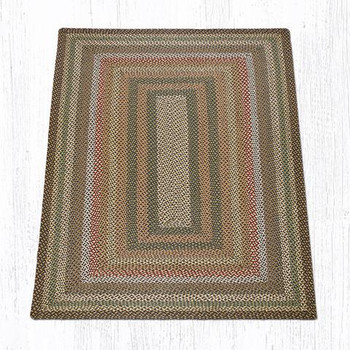 5' x 8' Fir Ivory Braided Jute Rectangle Rug