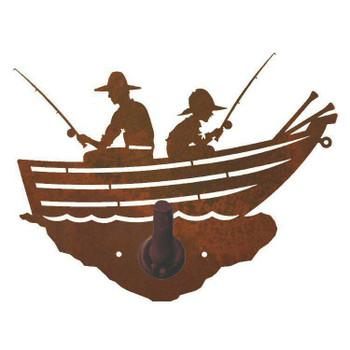 Row Boat Metal Robe Hook