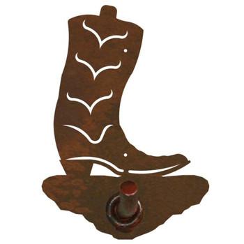 Cowboy Boot Metal Robe Hook