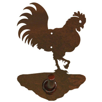 Rooster Metal Robe Hook