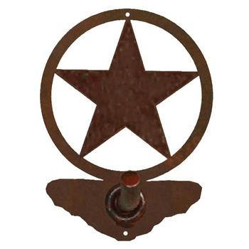 Texas Western Star Metal Robe Hook