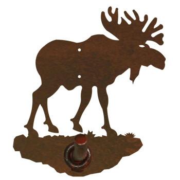 Original Moose Metal Robe Hook