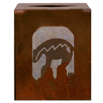Fetish Bear Metal Boutique Tissue Box Cover