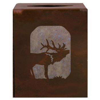 Elk Metal Boutique Tissue Box Cover