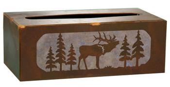 Elk Metal Flat Tissue Box Cover