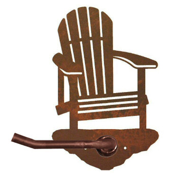 Adirondack Chair Metal Toilet Paper Holder