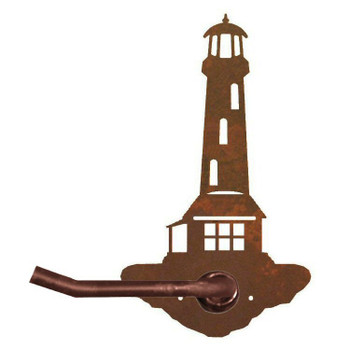 Lighthouse Metal Toilet Paper Holder