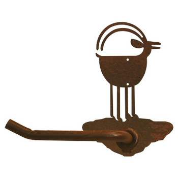 Ram Goat Metal Toilet Paper Holder