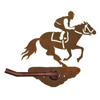 Derby Horse Racer Metal Toilet Paper Holder