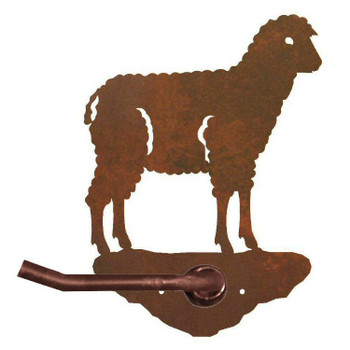 Sheep Metal Toilet Paper Holder
