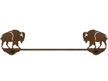 "18"" Buffalo Metal Towel Bar"