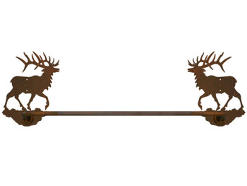"18"" Original Elk Metal Towel Bar"