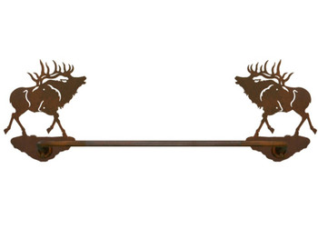 "18"" Elk Metal Towel Bar"
