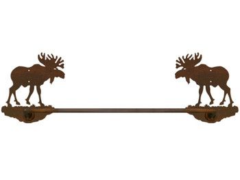 "27"" Original Moose Metal Towel Bar"
